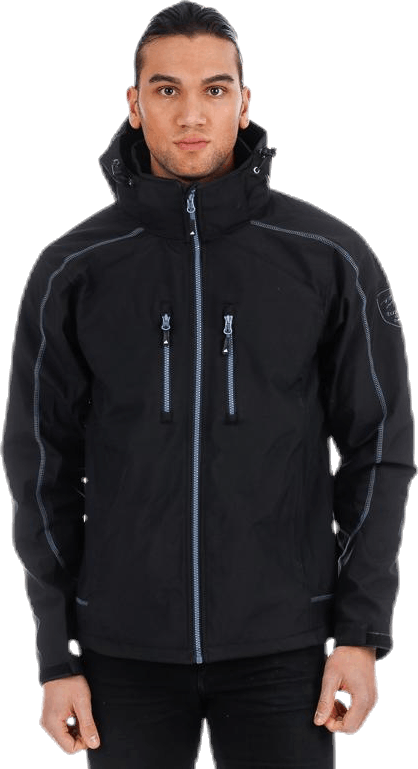Wale Jacket Black