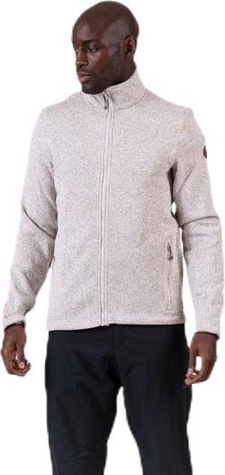 Richard Melange Fleece Jacket Beige