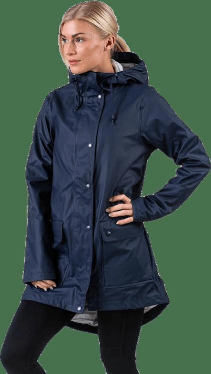 Saga Rain Jacket Blue