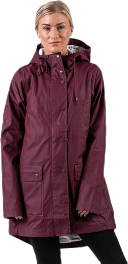 Saga Rain Jacket Purple