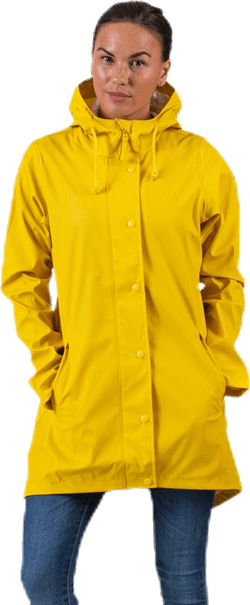 Petra Rain Jacket Yellow