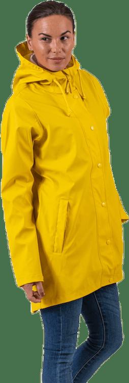 Petra Rain Jacket Yellow