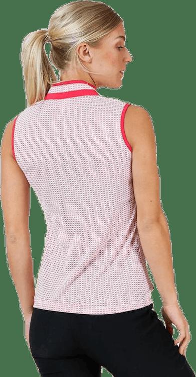 Talia SL Polo Shirt Pink