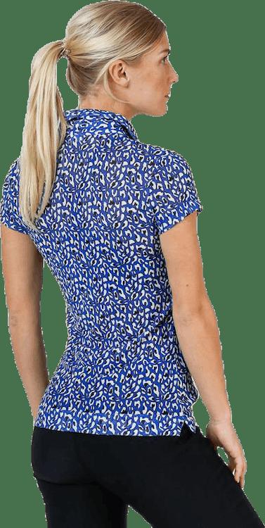 Bella Mesh Cap S Polo Shirt Blue