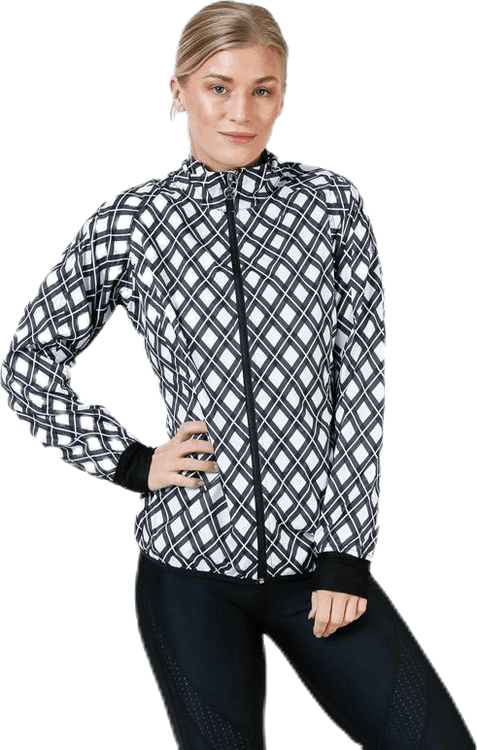 Scotty Wind Jacket White/Black