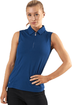 Macy SL Polo Shirt Blue