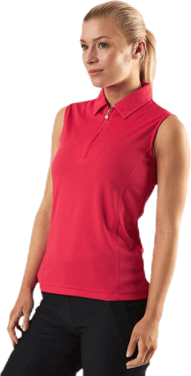 Macy SL Polo Shirt Red