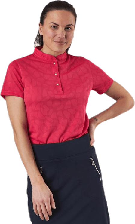 Uma SS Polo Shirt Red