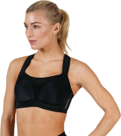High Support Sports Bra C Black