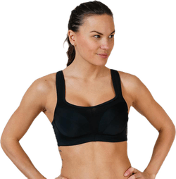High Support Sports Bra E Black