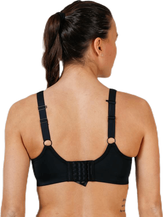 High Support Sports Bra G Black