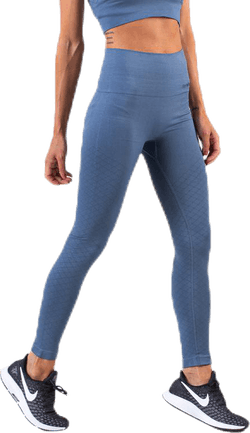 Seamless Tights Blue