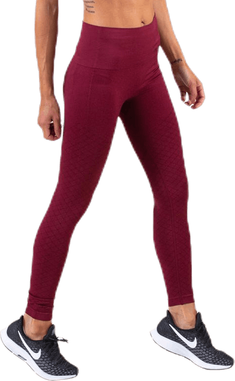 Seamless Tights Red