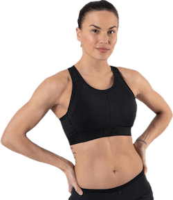 Max Support Bra Black