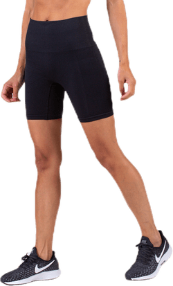 Seamless Biker Tights Black