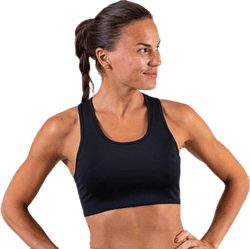 Compression Sports Bra Black