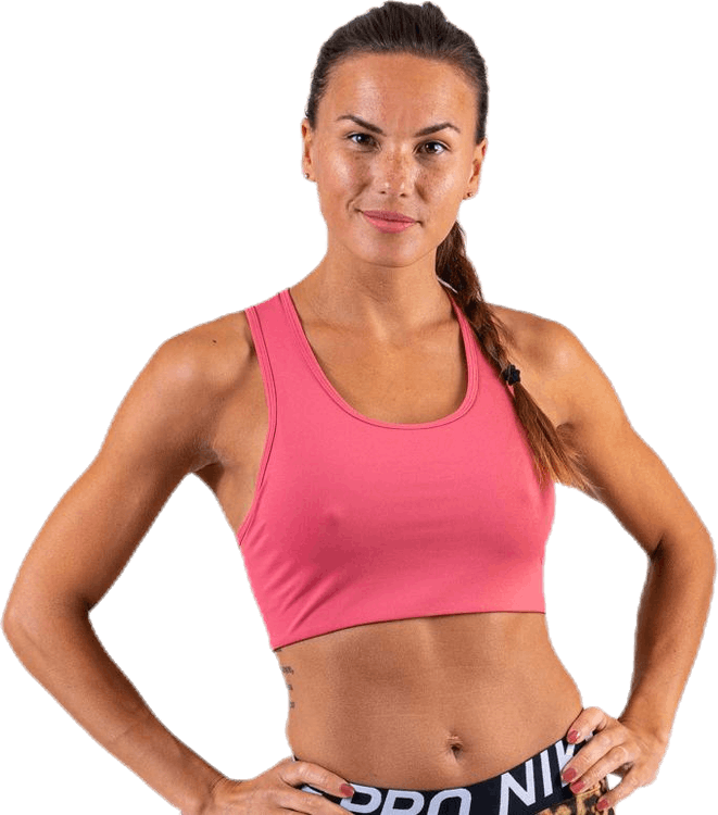 Compression Sports Bra Pink