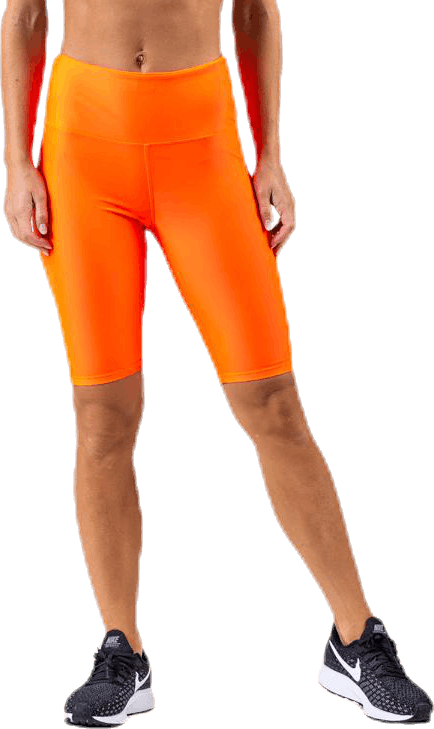 Neon Bike Tights Orange