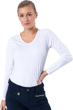 Essential Long Sleeve White