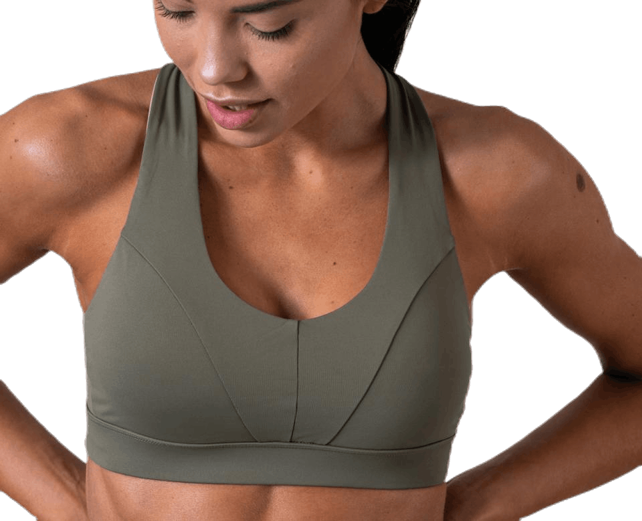 Energy Sports Bra Green