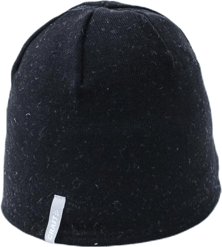 Light 6 Dots Hat Black