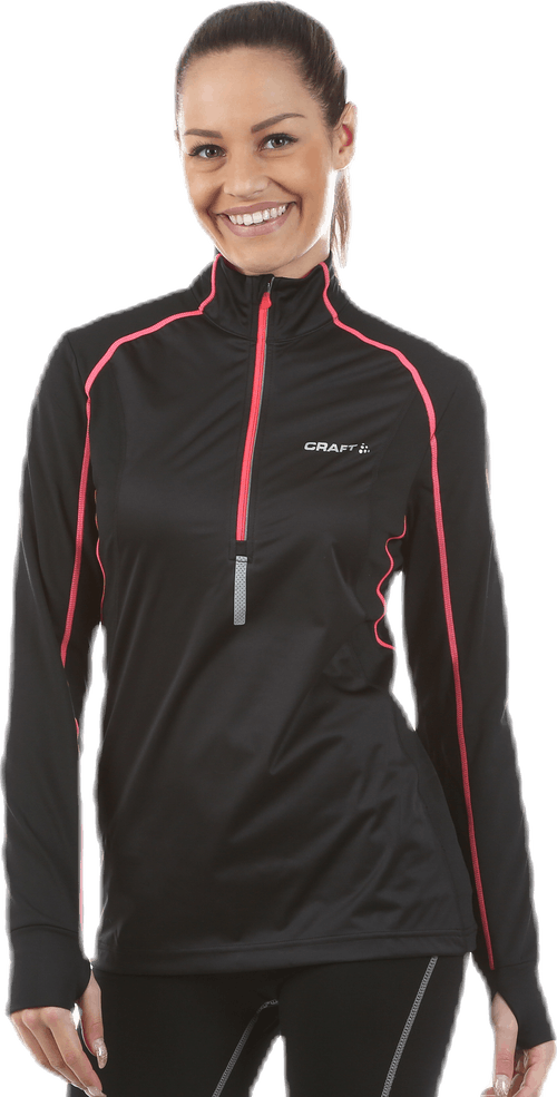 Defense Thermal Wind Top Pink/Black