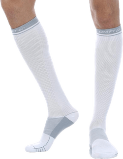 Compression Sock White