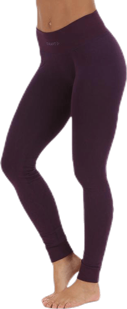Wool Comfort Pants Purple