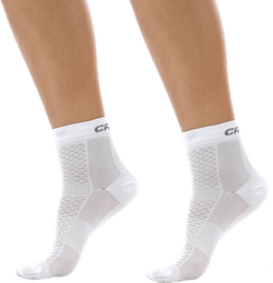 Cool Mid 2-Pack Sock White