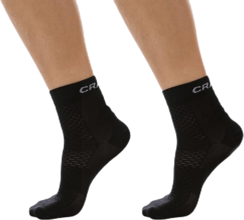 Cool Mid 2-Pack Sock Black