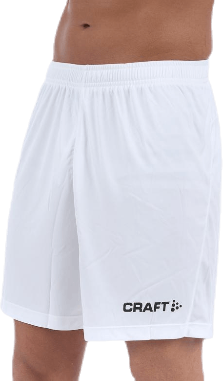 Squad Short Solid M White