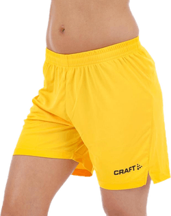Squad Short Solid W Yellow