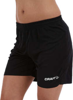 Squad Short Solid W Black