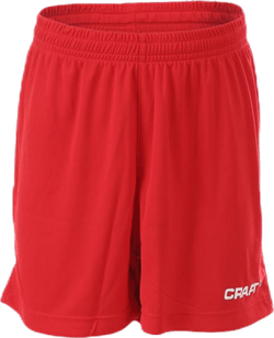 Squad Short Solid Jr Red