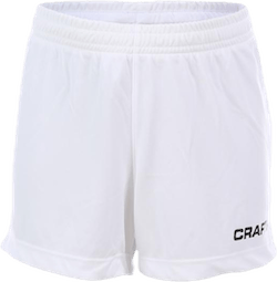 Squad Short Solid Jr White