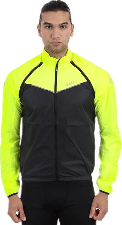 Velo Convert Jacket Black/Yellow