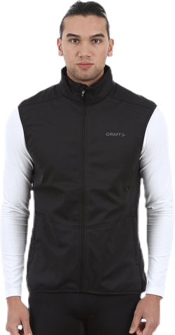 Warm Vest Black/Grey
