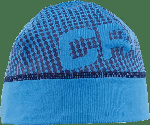 Livigno Printed Hat Blue