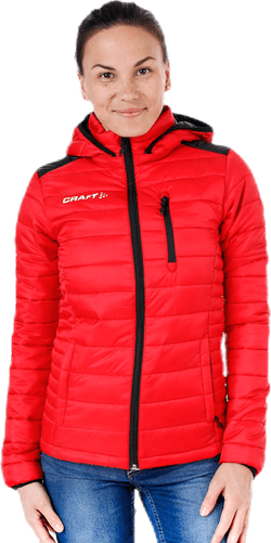 Isolate Jacket W Red
