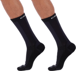 Warm Mid 2-Pack Sock White/Black