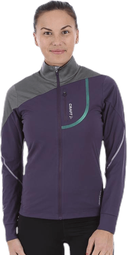 Pace Jacket Purple/Grey