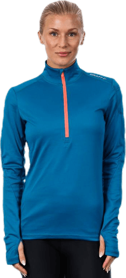 Tempo Halfzip W Blue/Orange