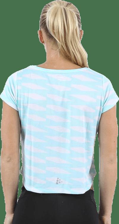 Breakaway Short Tee Turquoise