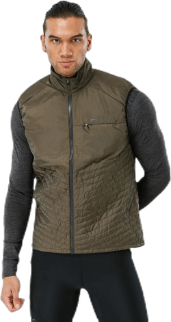 Urban Run Body Warmer M Black/Green