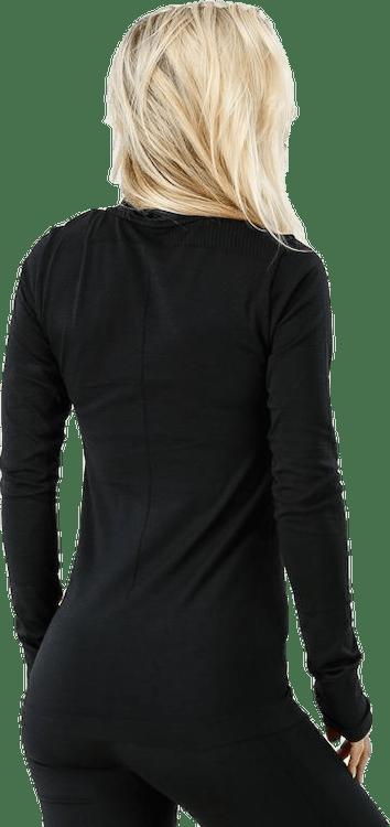 Fuseknit Comfort Wrap LS Black
