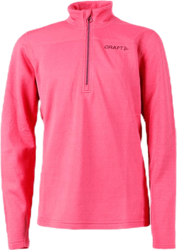 Pin Halfzip Jr Pink