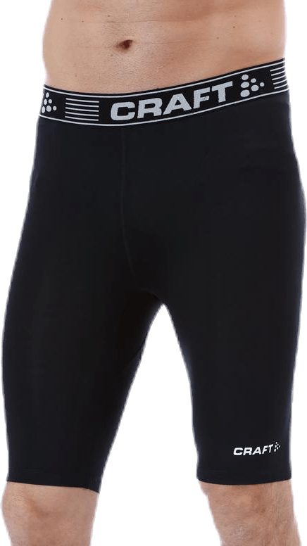 Pro Control Compression Short Tights Black