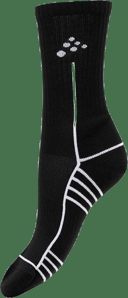 Progress Mid Sock Black