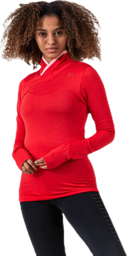 Fuseknit Comfort Wrap LS Red