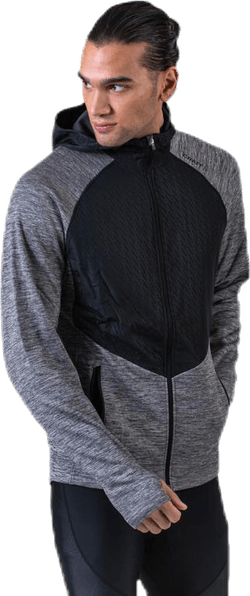 Charge FZ Sweat Hood Jacket Grey